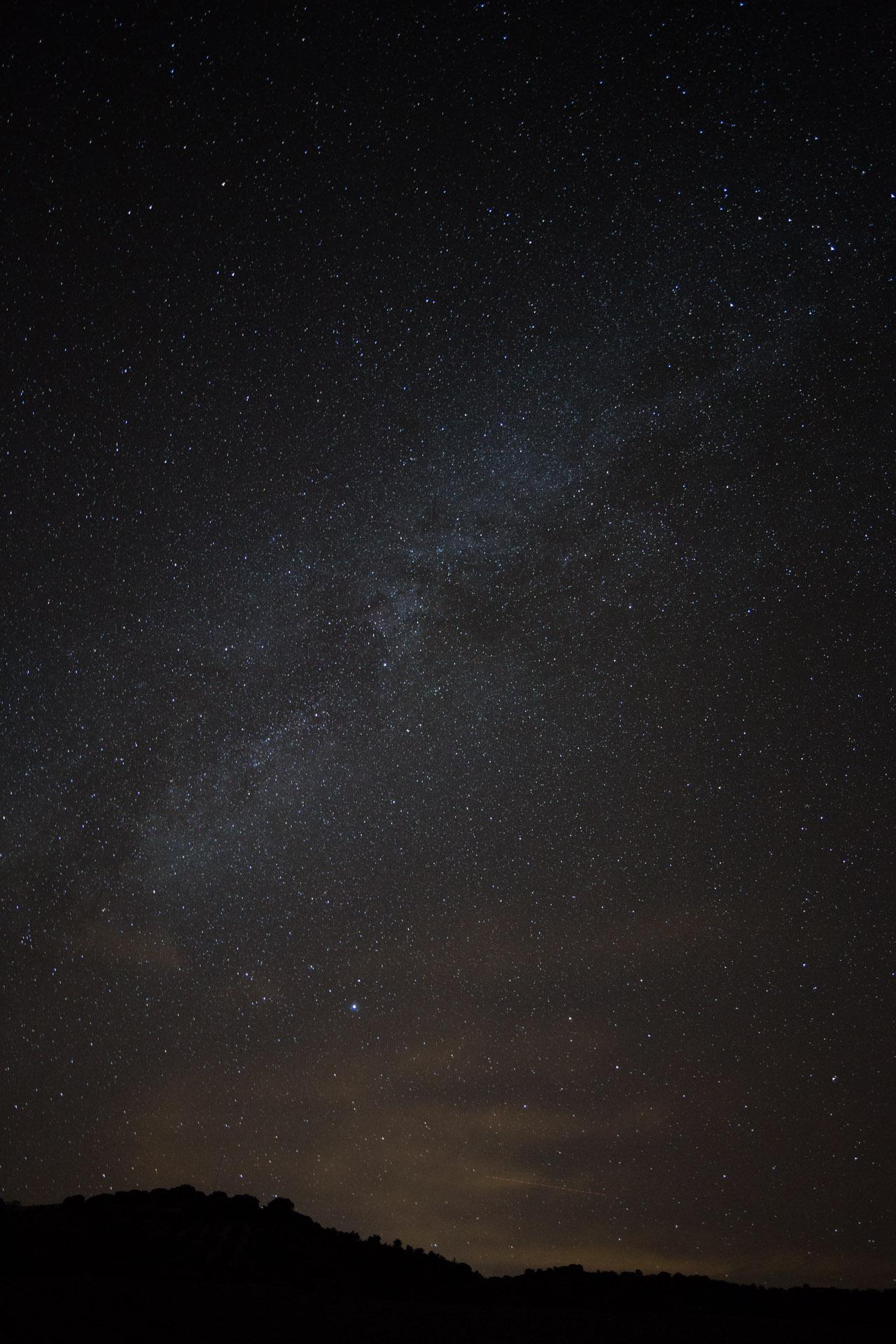 Cielo nocturno en Sierra Mágina